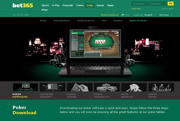 bet poker download