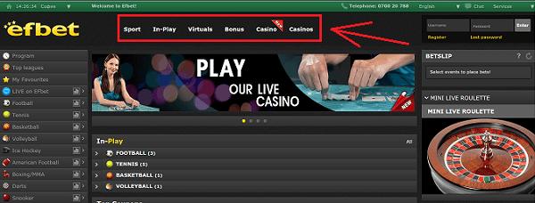 efbet casino online